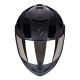 Casco SCORPION EXO 1400 AIR FREEWAY II Negro Mate Brillo
