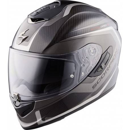 Casco SCORPION EXO 1400 CARBON AIR ESPRIT NEGRO