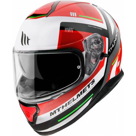 Casco Mt Integral THUNDER 3 SV CARRY C5 Gloss Pearl Red