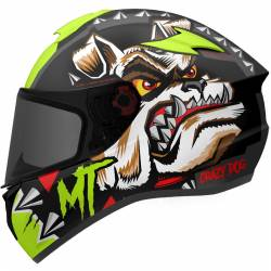 TARGO CRAZYDOG G3 DOG MT CASCO INTEGRAL