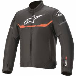 CHAQUETA ALPINESTARS T-SPS BLACK RED WATERPROOF