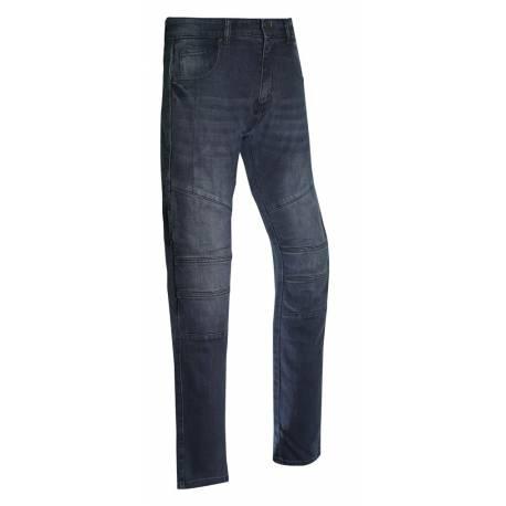Bela Tom Jeans vaqueros Kevlar moto Negro/gris
