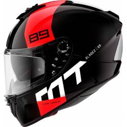 Casco integral Mt BLADE 2 SV 89 B5 GLOSS PEARL RED