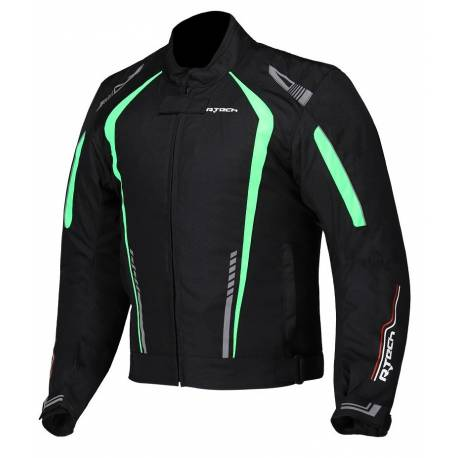 Cazadora R-Tech Marshal Textil Negra Verde
