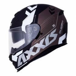 Casco Axxis integral Diagon Gris visor solar