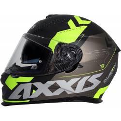 Casco Axxis integral Diagon Fluor visor solar