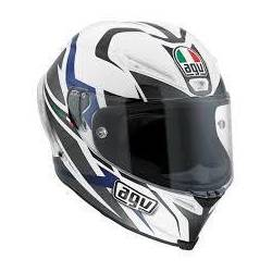 Agv Corsa Multi W Velocity White Black Blue
