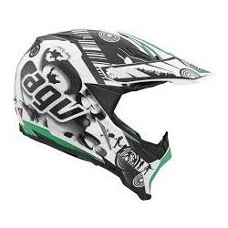 Agv Ax-8 Evo Multi Cool White Black Green