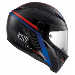 Agv Gt Veloce Aspide Black Red Blue